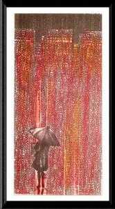 Red City Umbrella