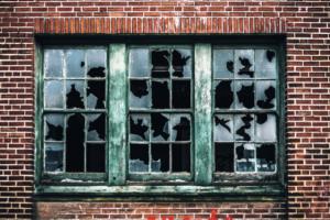 broken glass - 500 lost jobs